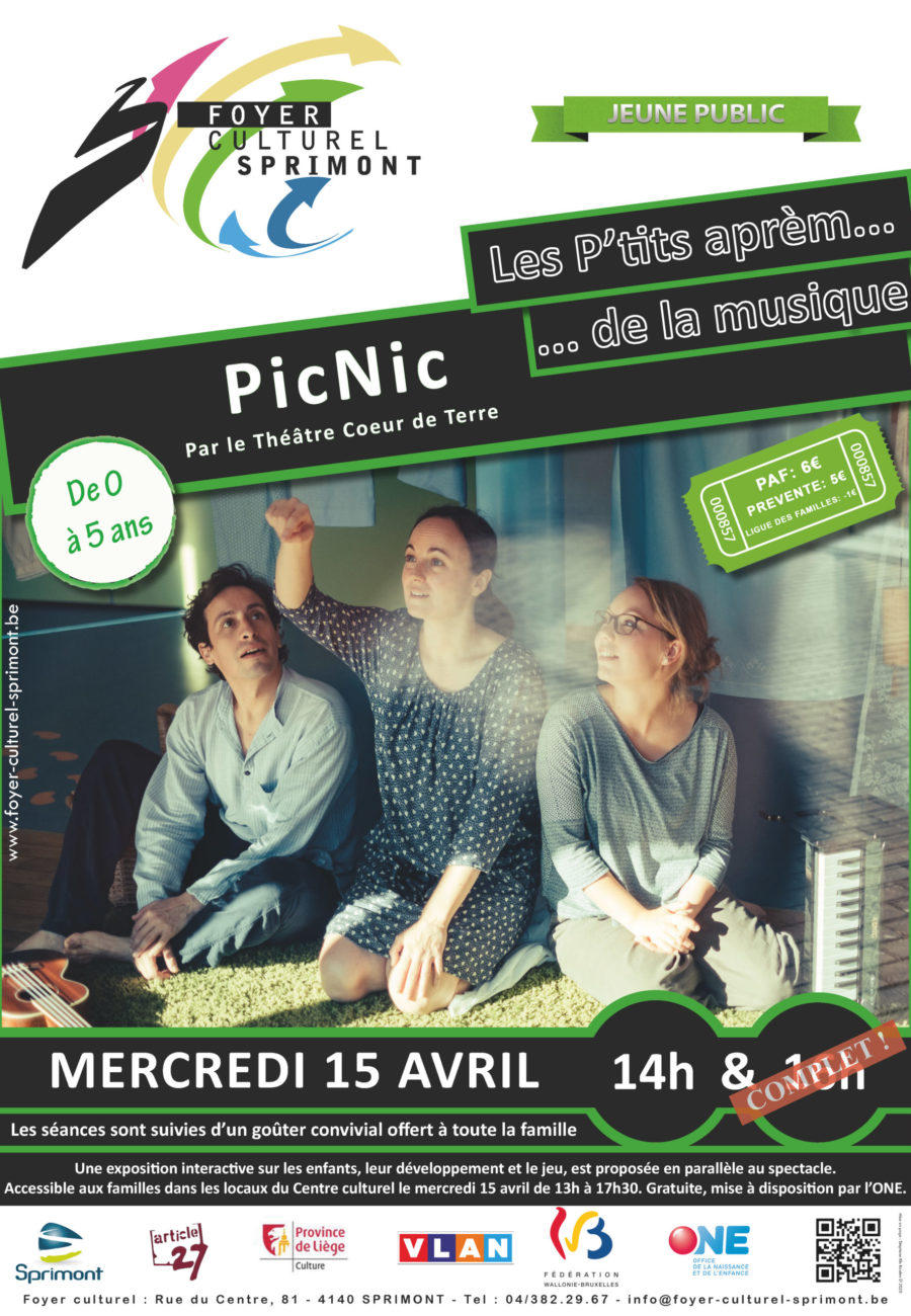 Mercredi 15 avril « PicNic »